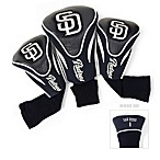 San Diego Padres 3-Pack Contour Golf Club Headcovers