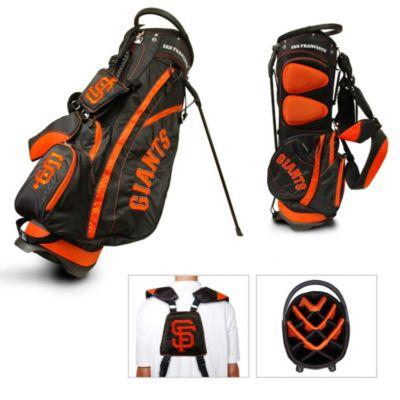 Black Orange Golf Bag