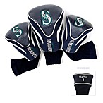 Seattle Mariners 3-Pack Contour Golf Club Headcovers