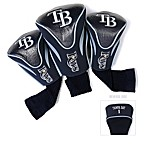 Tampa Bay Rays 3-Pack Contour Golf Club Headcovers