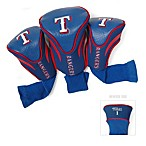 MLB Texas Rangers 3-Pack Contour Golf Club Headcovers