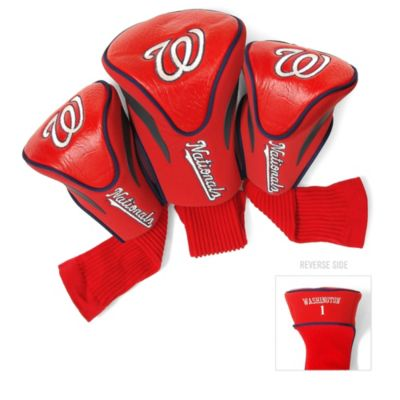 MLB Washington Nationals 3-Pack Contour Golf Club Headcovers