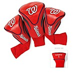 Washington Nationals 3-Pack Contour Golf Club Headcovers