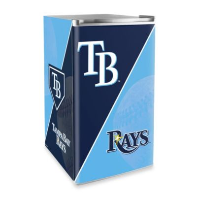 Tampa Bay Rays Licensed Counter Height Refrigerator