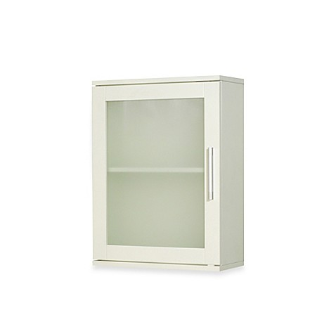 frosted pane wall cabinet in antique white is not available for sale