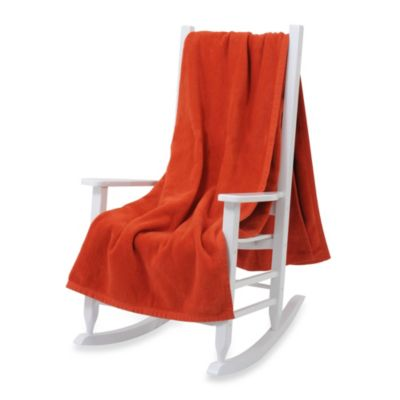 Downtown Company Twin Blanket in Burnt Orange
