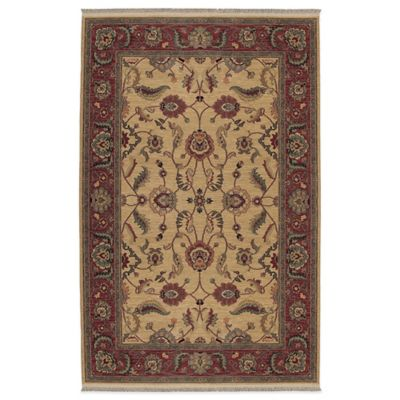 6 x 9 Red Collection Rug