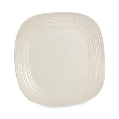 Mikasa® Swirl 12-Inch Square Platter in White