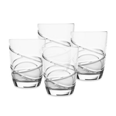 Lenox® Adorn Signature Crystal 10-Ounce Double Old-Fashioned Set of 4