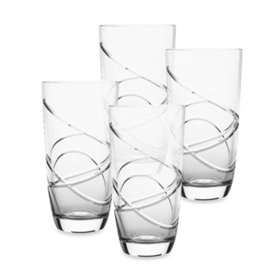 Lenox® Adorn Signature Crystal 14-Ounce Highball Set of 4