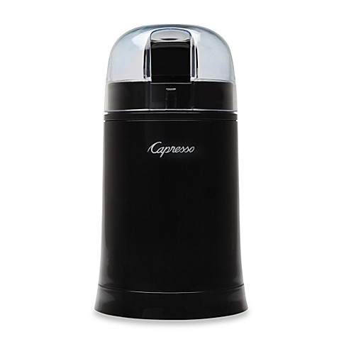Capresso® Cool Grind Coffee & Spice Grinder in Black