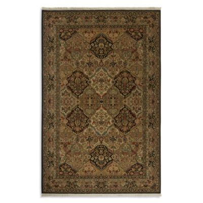 Karastan Original Empress Kirman 5-Foot 9-Inch x 9-Foot Rug in Black