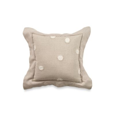 Rosetree Worthington 12-Inch Square Dot Toss Pillow