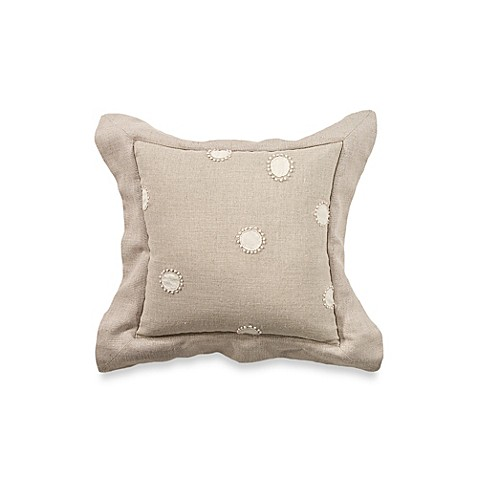 Rosetree Worthington 12 Inch Square Dot Toss Pillow Bed