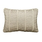 Rosetree Crystal Beaded Oblong Breakfast Toss Pillow