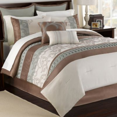 Vanessa 12-Piece Full Comforter Super Set