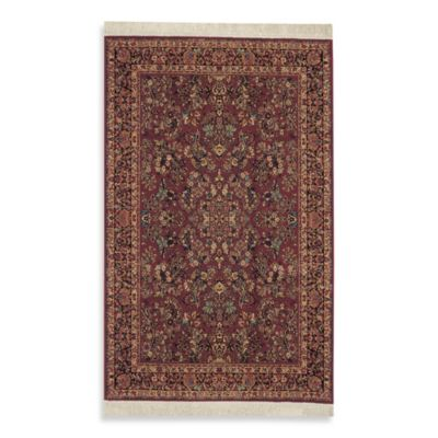 Karastan Original Red Sarouk Rug