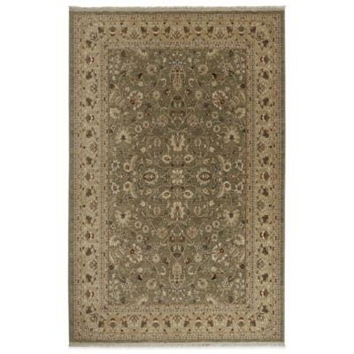 9 x 12 Green Collection Rug