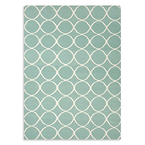 Cool Shag Bath Rug Aqua On OneKingsLanecom