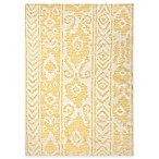 Jaipur Khalid Floral Indoor Rug in White Butter