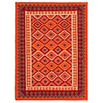 Jaipur Anatolia Izmir Rug in Medium Red Tobasco
