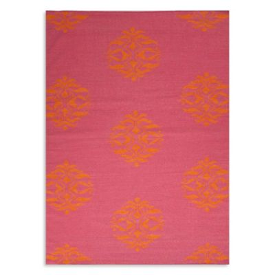Jaipur Maroc Nada 3-Foot 6-Inch x 5-Foot 6-Inch Rug in Pink/Orange