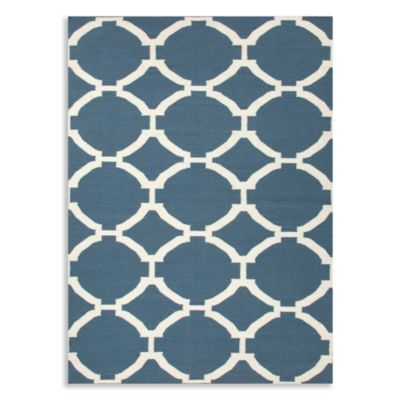 Jaipur Maroc Rafi 3-Foot 6-Inch x 5-Foot 6-Inch Rug in Dark Denim