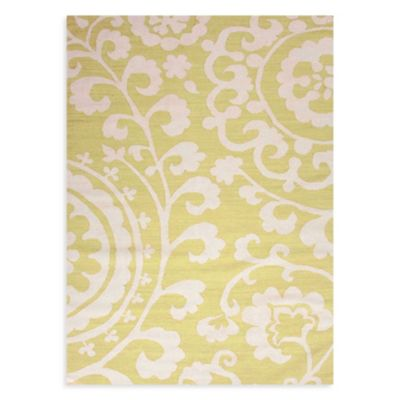 Jaipur Maroc Rania 3-Foot 6-Inch x 5-Foot 6-Inch Rug in Lime