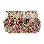 Kalencom Laminated Buckle Bag in Multi Paisley Watermelon