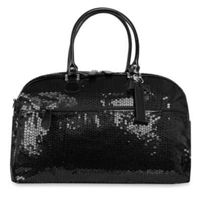 Trumpette Large Schleppbags Diaper Bag in Black Sequin