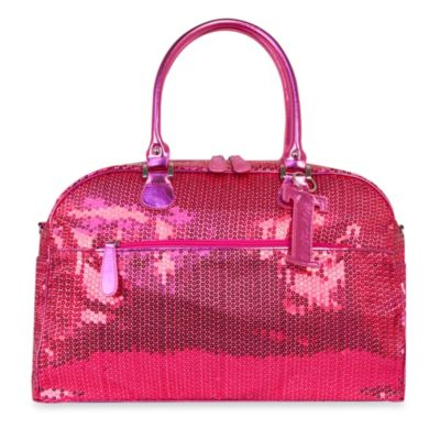Trumpette Large Schleppbags Diaper Bag in Fuchsia Sequin