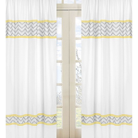 Curtains Ideas chevron curtains grey : Yellow And Gray Chevron Curtains - Best Curtains 2017