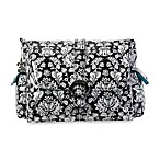 Kalencom Messenger Diaper Bag with Buckle in Toile Black and White