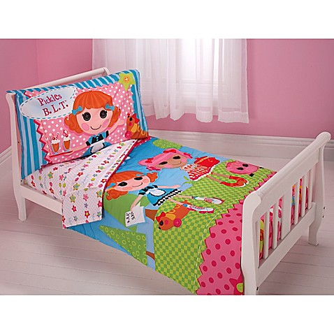 Lalaloopsy one of a kind 4 piece toddler set www for One of a kind beds
