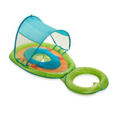 Swimways Mommy and Me Green Turtle Baby Spring Float