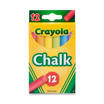 Crayola® Multi-Colored Children's Chalk (12-Count)