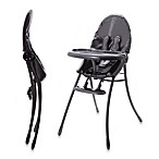 bloom® nano™ Urban High Chair in Matte Black/Snakeskin