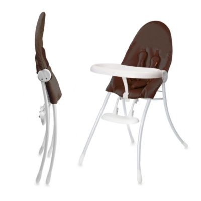 bloom® nano™ Urban High Chair in White with Henna Brown