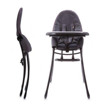 High Chairs > bloom® nano™ Urban High Chair in Matte Black/Diesel Denim