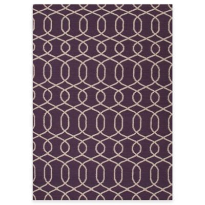 Jaipur Sabrine 8-Foot x 10-Foot Rug in Continental Plum