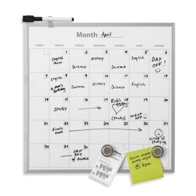 Weekly Planner Dry Erase Board