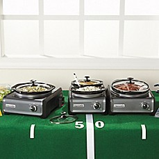 Crock-Pot® Hook Up™ Connectable Entertaining System in Charcoal