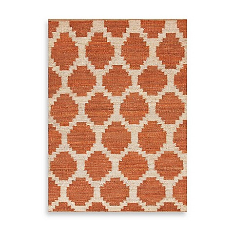 Feza Souk Indoor Rug in Red/Orange