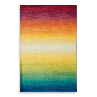 Loloi Lyon Rainbow 7-Foot 7-Inch x 10-Foot 5-Inch Rug