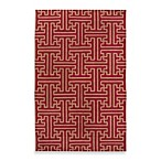 Alachua Rug in Brick/Gold