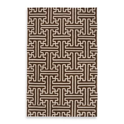 Alachua 3-Foot 6-Inch x 5-Foot 6-Inch Rug in Brown