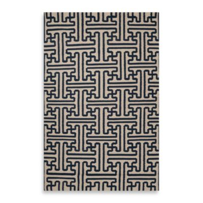 Alachua 5-Foot x 8-Foot Rug in Navy