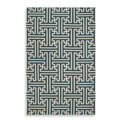 Alachua 5-Foot x 8-Foot Rug in Turquoise