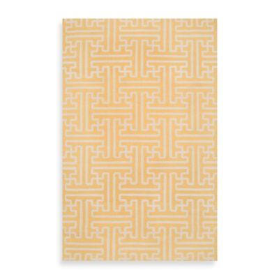 Alachua 5-Foot x 8-Foot Rug in Yellow