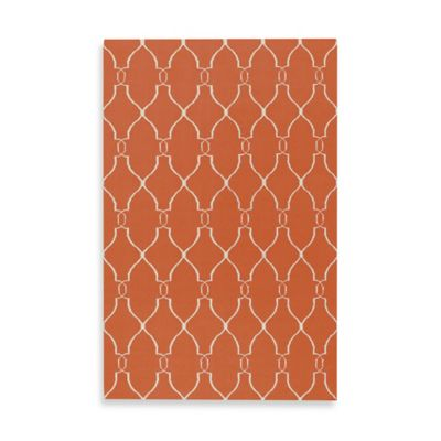 Afton 5-Foot x 8-Foot Rug in Coral